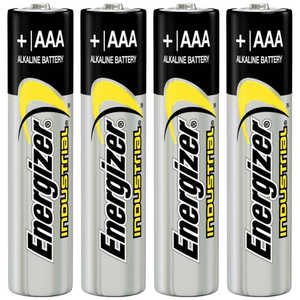 Energizer AAA Cell Alkaline Batteries, Pack of 4