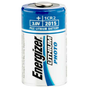 Energizer Lithium Battery, CR2, 3V, Single