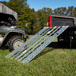 "Portable Folding Aluminum ATV Ramp, 6'L x 40""W, 1,000 lb. Capacity"