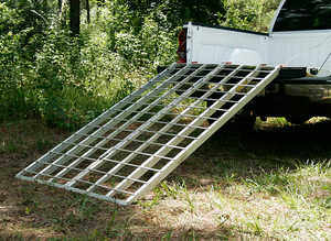 "Portable Folding Aluminum ATV Ramp, 6'10""L x 44""W, 1,200 lb. Capacity"