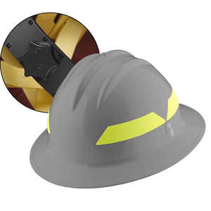 Grey Hat, Bullard Wildland Fire Helmet with Ratchet Suspension