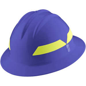 Blue Hat, Model FH911H Bullard Wildland Fire Helmet with Self Sizing 6-Point Suspension