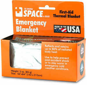 "Emergency Thermal Blanket, 56"" x 84"""