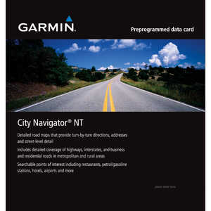 Garmin MapSource City Navigator North America NT on microSD