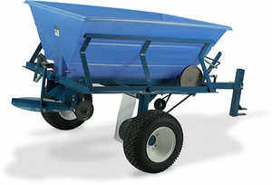Wikco Industries Model 800 Tow-Behind Granular Material Spreader