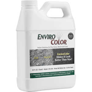 EnviroColor Mulch Colorant, Black Forest, 32 oz.