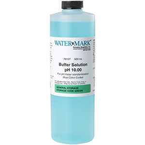 10.01, WaterMark pH Buffer Solution, One Pint