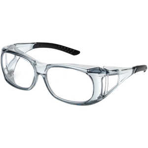 Elvex OVR-Spec II Safety Glasses, Clear Lens