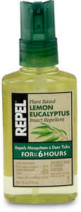 Repel Lemon Eucalyptus Insect Repellent, 4 oz. Spray