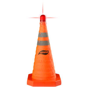 "Aervoe Collapsible Traffic Cone, 28""H"