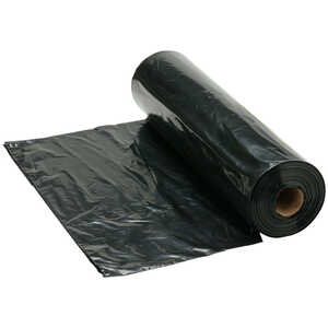 Drum Liners, 55-65 Gallon, Black, Box of 100