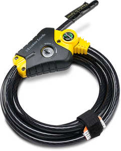 Master Lock Python Adjustable Locking Cable, 6', Keyed Alike