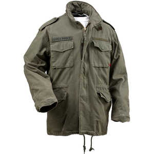 Rothco Vintage M-65 Field Jacket, Olive Drab, XX-Large (49-53)