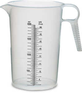 Accu-Pour Measuring Pitcher, 64 oz./2 liter