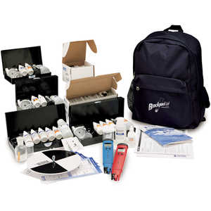 Hanna Instruments® Backpack Lab™ Water Quality Education Test Kit