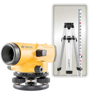 Topcon AT-B4A/PS Automatic Level Kit