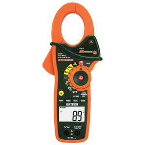 Extech 1000A True RMS AC/DC Clamp Meter with IR Thermometer
