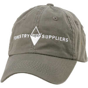 Forestry Suppliers Field Cap, Loden Green with White Logo