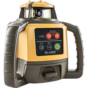 Topcon RL-H5A Self-Leveling Laser Level with Rechargeable Battery and LS-80L Laser Sensor