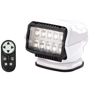Golight Stryker LED Wireless Remote Controlled Spotlight with Permanent Mount