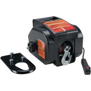 Keeper Trakker 2000 lb. Ball Mount Winch