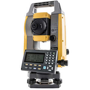 "Topcon GM-55 5"" Reflectorless Single Display Total Station with Bluetooth"