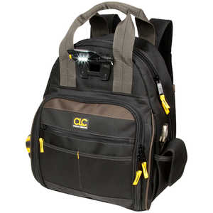 CLC Tech Gear 53-Pocket Lighted Tool Backpack