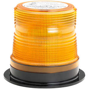 North American Signal Company 350 Series Quad-Flash Micro-Burst™ Strobe Light with Amber Dome