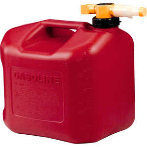 No-Spill CARB Compliant Gasoline Can, 5 Gallon