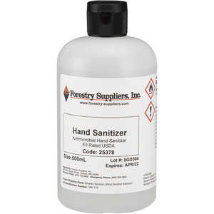 Forestry Suppliers Antimicrobial Hand Sanitizer, 16.9 oz. (500ml)