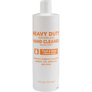 Heavy-Duty Waterless Hand Cleaner with Grit