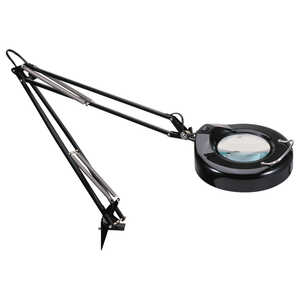 Alera Clamp-On Magnifier Lamp