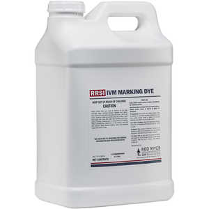 RRSI IVM Marking Dye, 2.5 Gallon