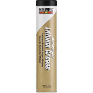 LubriMatic Multi-Purpose Lithium-Based Lubricating Grease, 14 oz. Tube