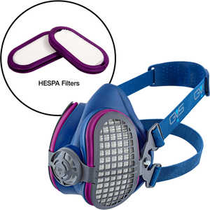 GVS Elipse® Half-Mask Respirator with HESPA® + P100 Filters
