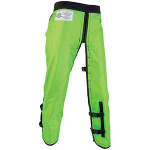 Arborwear RAC Calf Wrap Style Chain Saw Chaps, Long, 34˝-36˝ Inseam, Safety Green