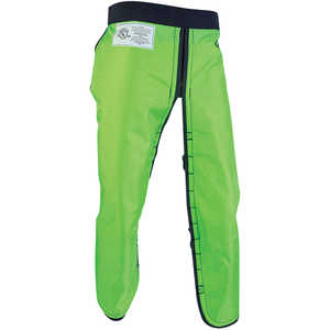 Arborwear RAC Apron Style Chain Saw Chaps, Long, 34˝-36˝ Inseam, Safety Green