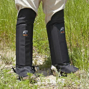 Venom Snake Gaiters, Black