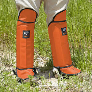 Venom Snake Gaiters, Orange